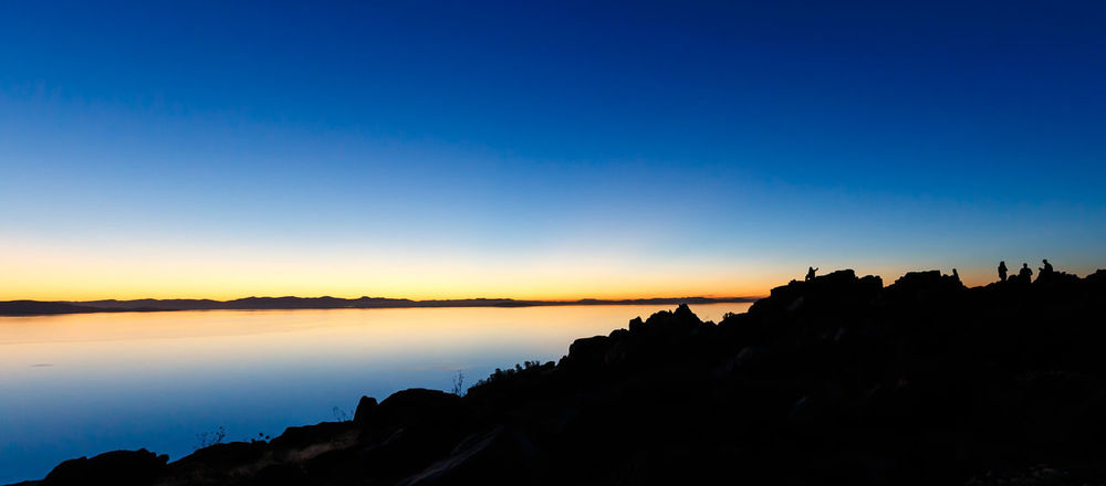 """Lakescape Silhouette"" The Great Outdoors - 2015 EyeEm Awards USA Utah Antelopeisland Sunset The Traveler - 2015 EyeEm Awards"