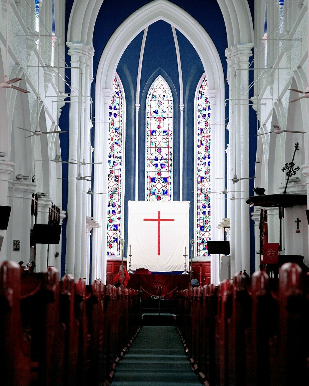 religion, place of worship, spirituality, arch, indoors, architecture, no people, day