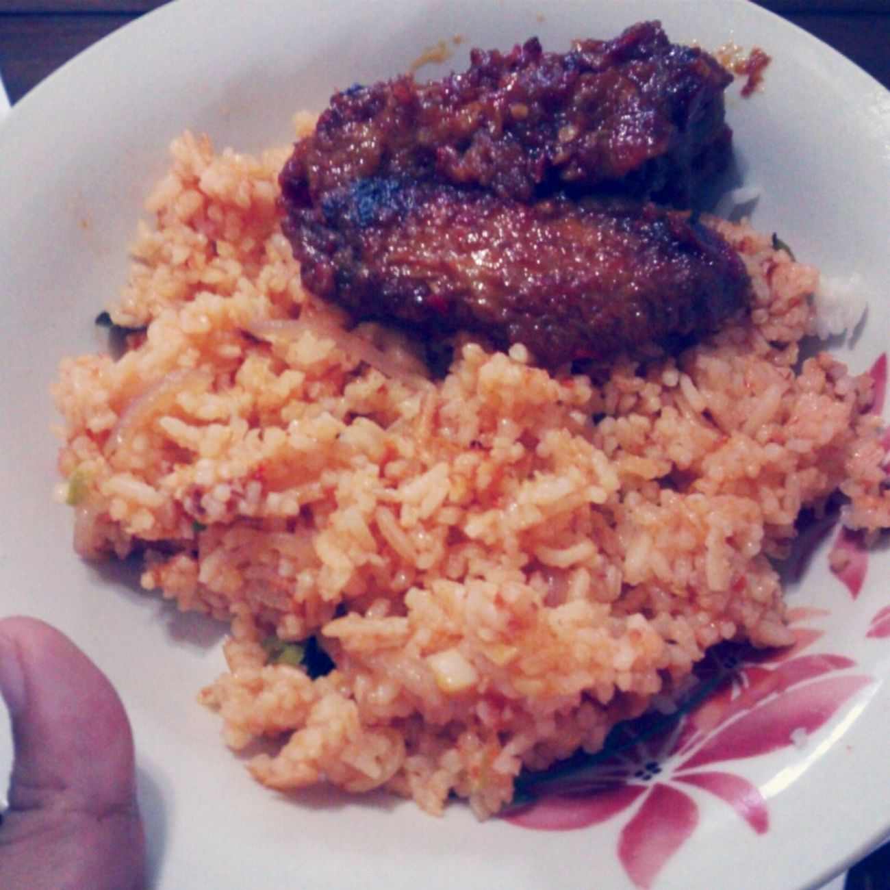 i survived without mum! yippie!! alhamdulillah.. :) Friedrice Makanbanyakbanyak Food HomeAlone