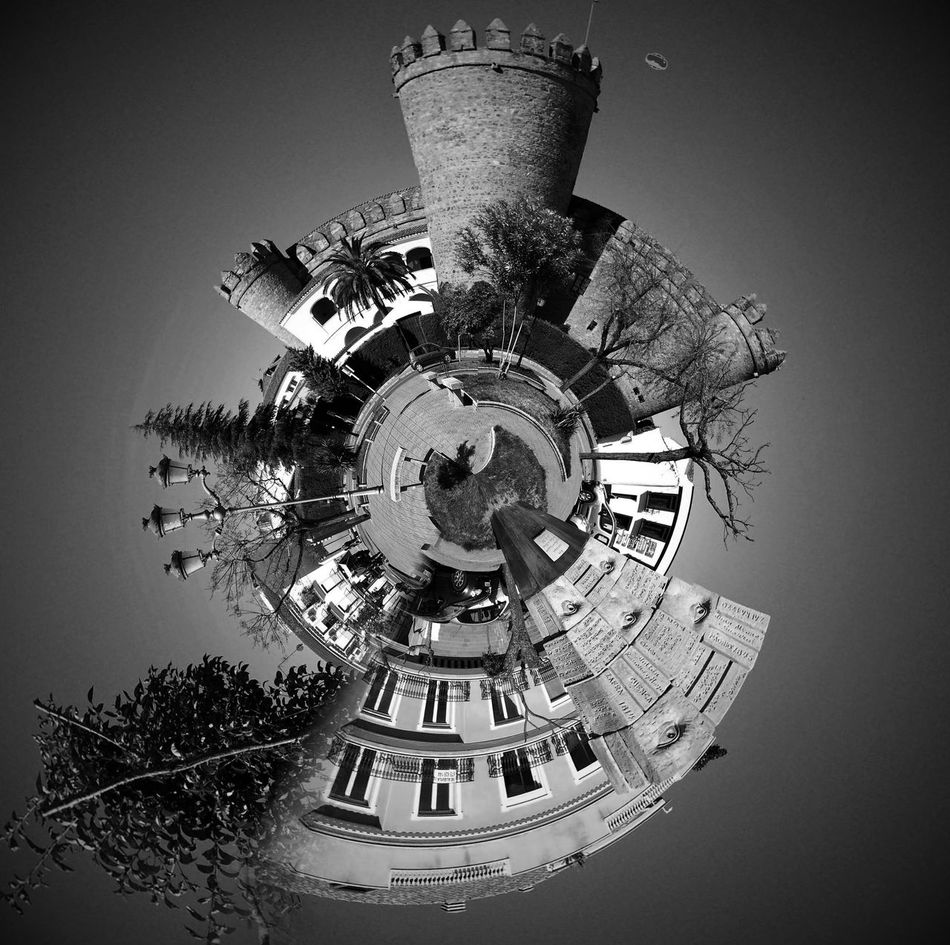 Motion Outdoors Abstract Black And White Travel Destinations City Tinyplanets
