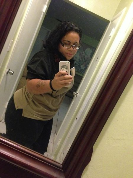 Mirror Picture Bordom Just Got Off Work I Dont Wana Go To Wrk