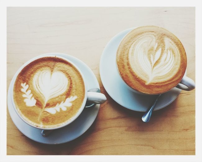 Blue Bottle Cafe Latte Latte Art