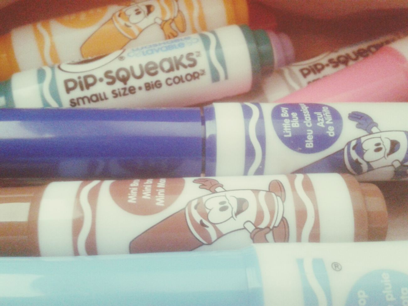 i swear i am not a four year old child on the inside. . .? Crayola Pip-squeaks First Eyeem Photo
