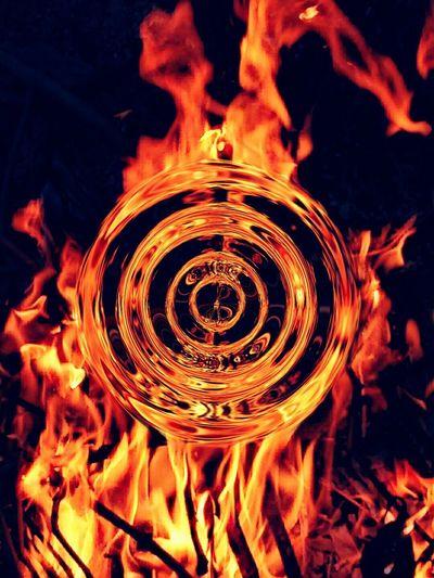 Glow In The Dark Fire