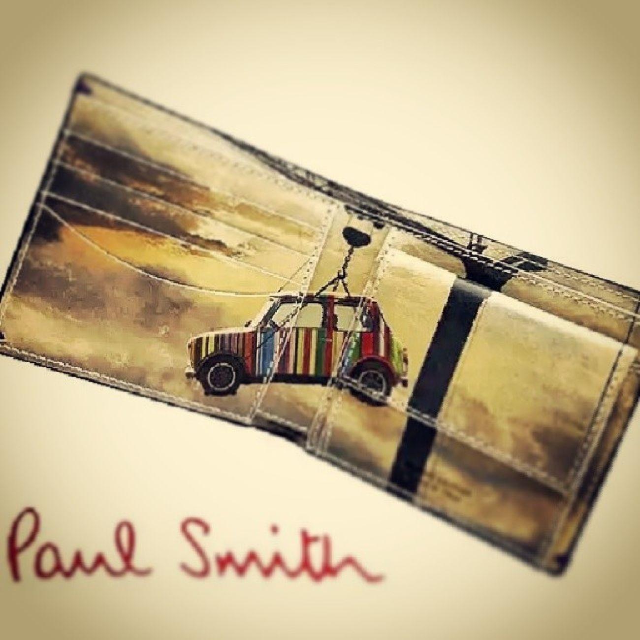 欲しい!どこで買えんだろ(._.) Paul smith 財布 Mini ミニクーパー このタグのシステムよくわかんない
