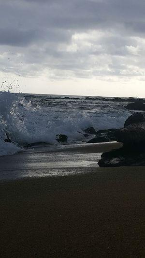 Beach Beauty In Nature Beach Photogrqphy Kauai Life Beauty In Nature Wet Wave Lydgate Beach Splashing Shorelines