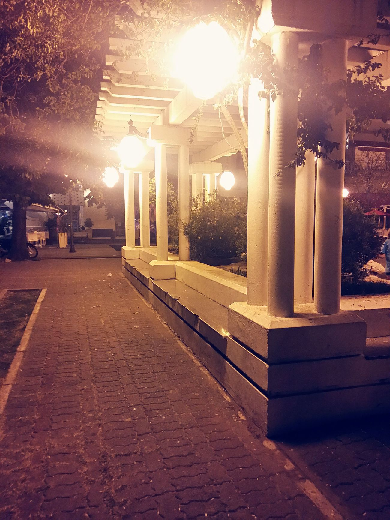 Walking Around Taking Photos Citytown City Lights Sannicolas