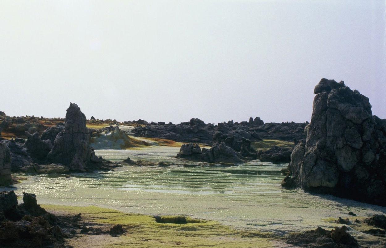 Africa Beauty In Nature Danakil Depression Ethiopia Landscape Landscape #Nature #photography Nature Outdoors Rare Rock Strange Landscape Tranquility