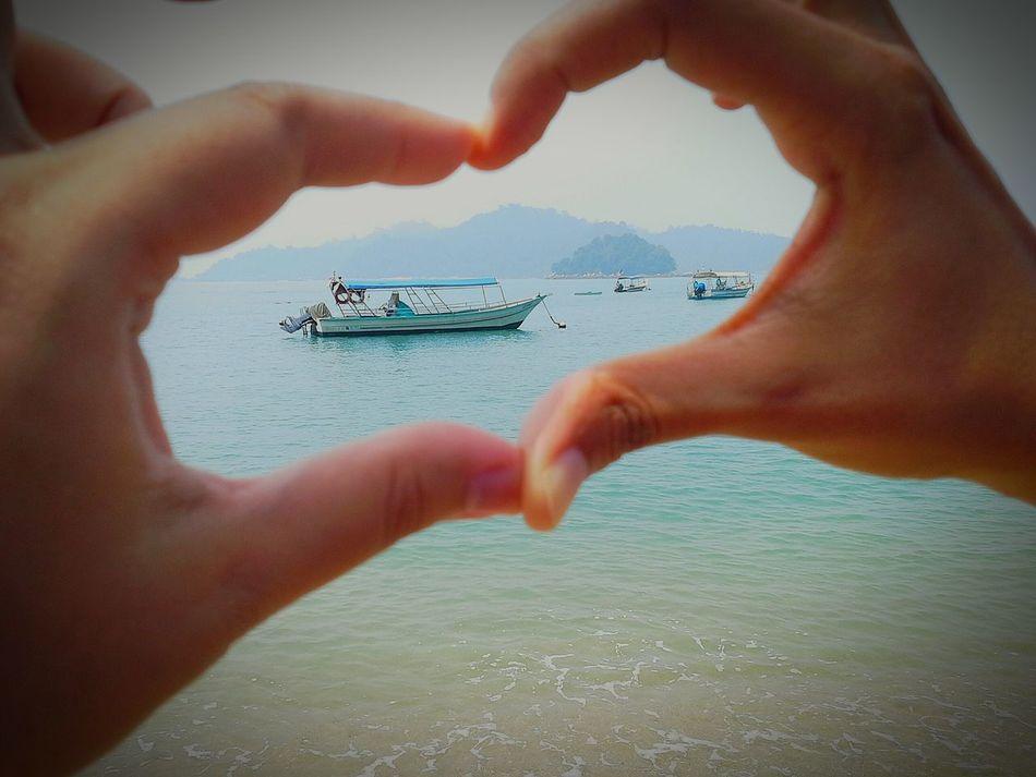 We Love ♥ BEACH!  Vacation Time Our Journey Friendship ❤ 2015Trip Jalanjalanperak Pangkor Island Malaysia