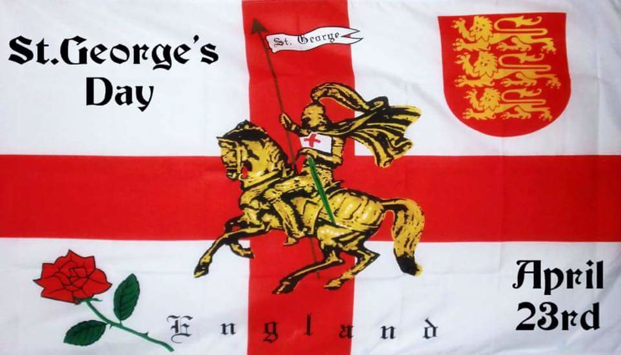 Happy St George's day everyone St Georges Day