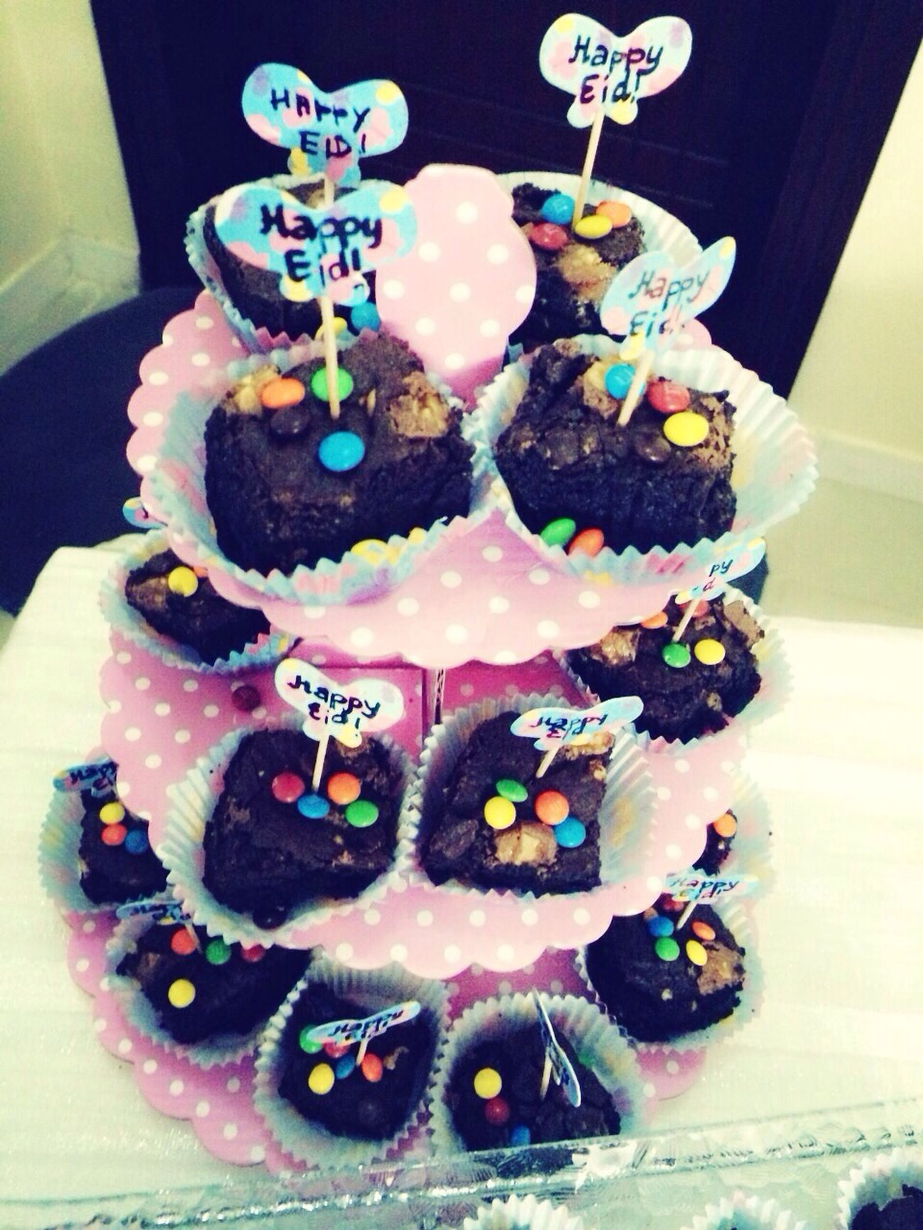 HappyEid Eid Mubarak Happy Eidul Adha Brownies