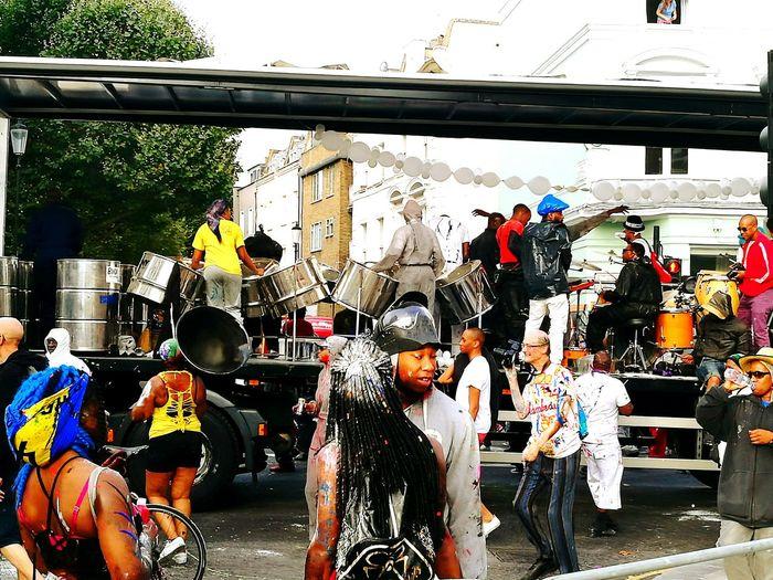 Notting Hill Carnival Juve Steel Pans
