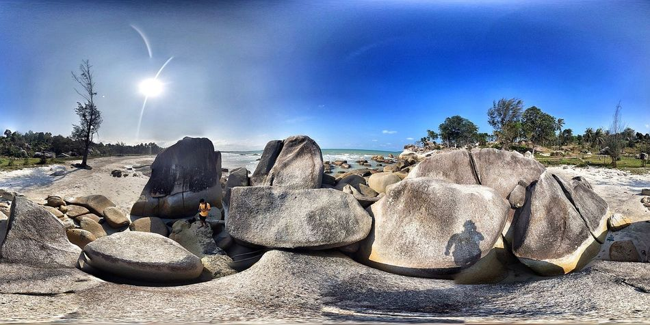 Panoramic Photography Explorebangka Bangka I Love Bangka