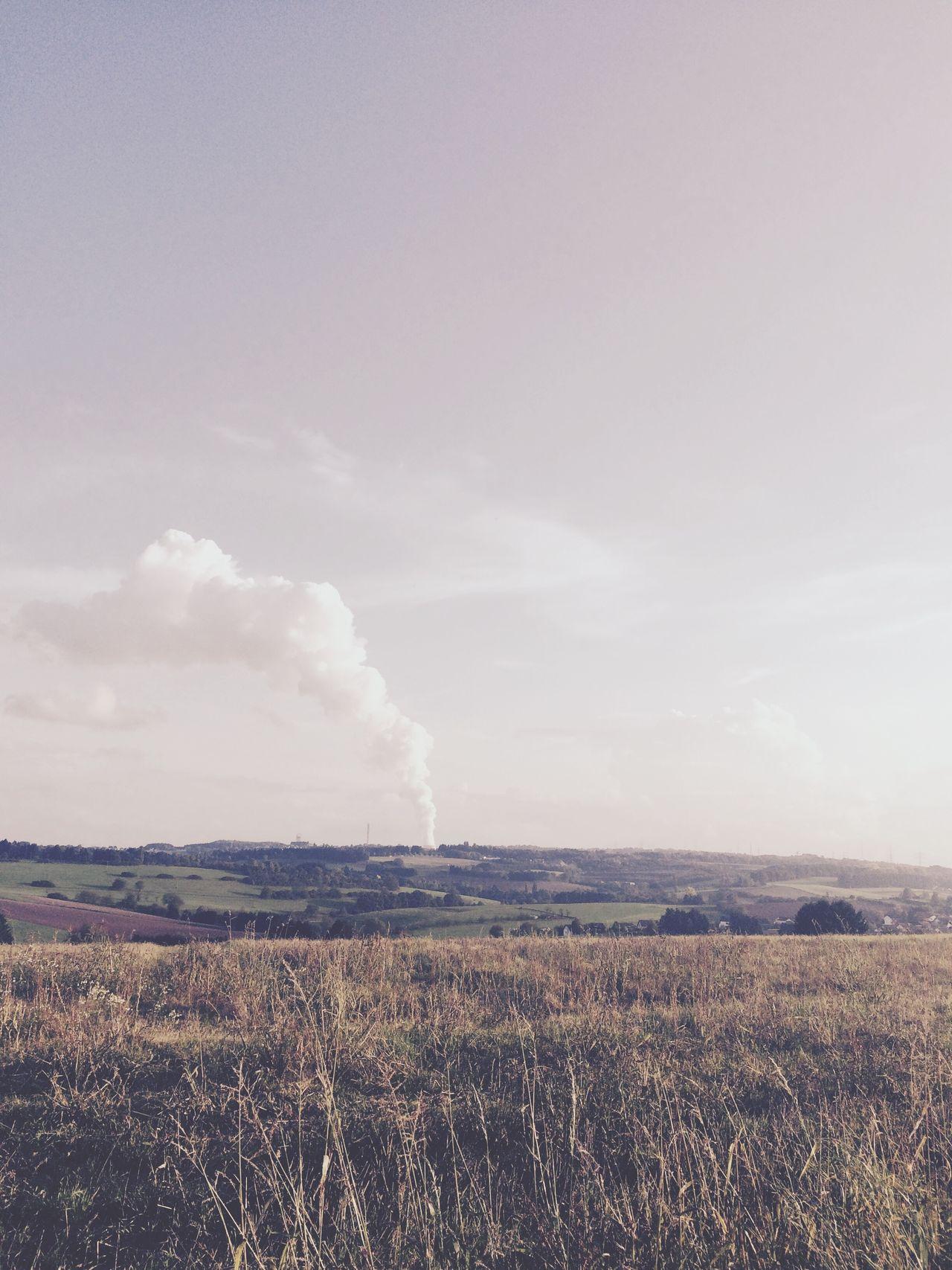 Kleiner Rauch. 2014 Rauch Smoke Landscape Nature