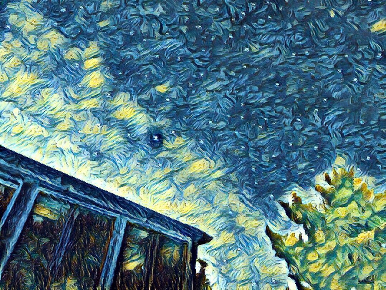 Photolab Starry Night Starry Sky Art Is Everywhere Special Effects