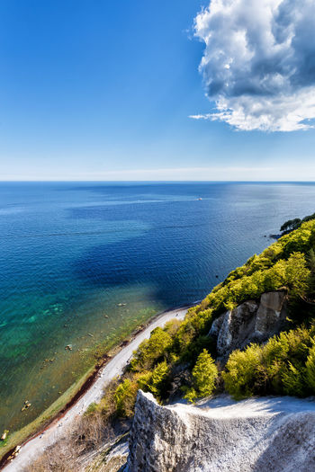Rügen Cliff Baltic Sea Seascape