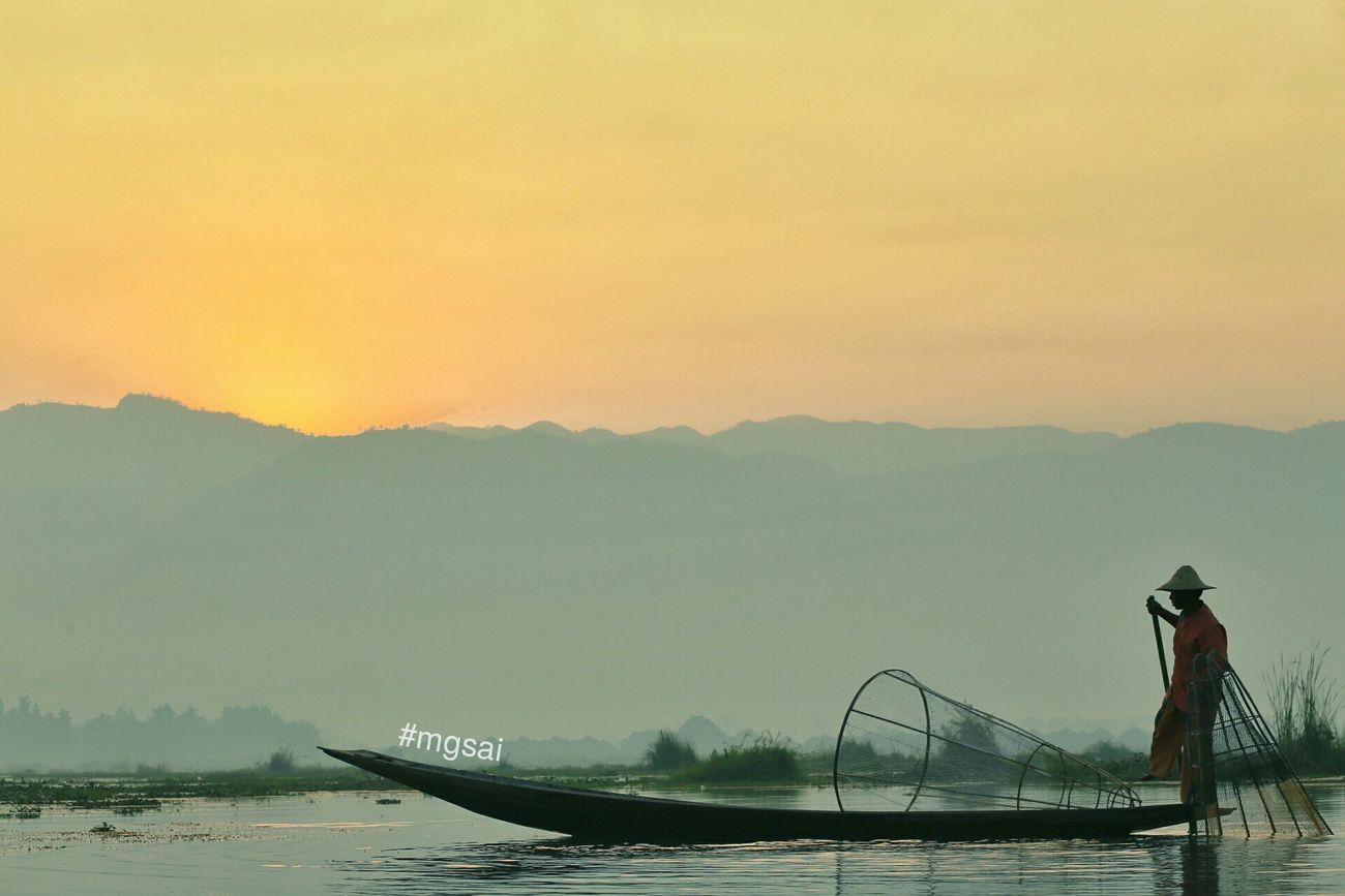 Inle Lake Myanmar View Taunggyi Shan