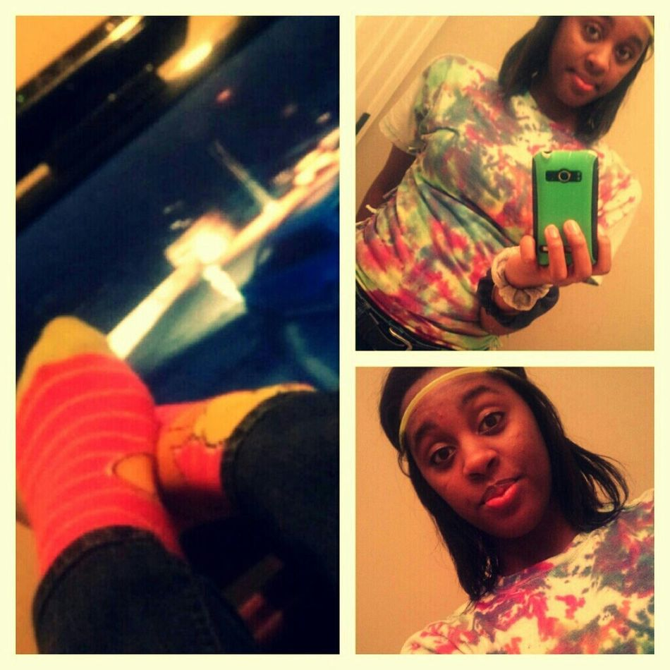 LastNight, Playing the game and being bored .