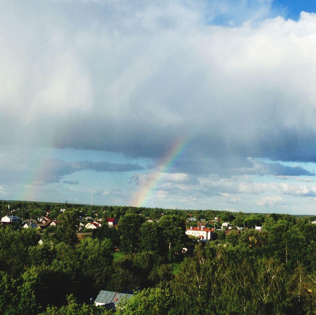 Sky Rainbow After The Rain