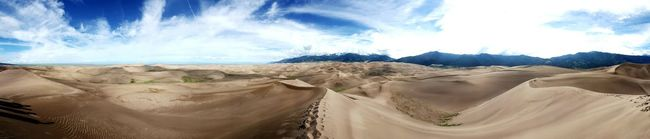 My favorite picture from Thr Great Sand Dunes in Colorado First Eyeem Photo