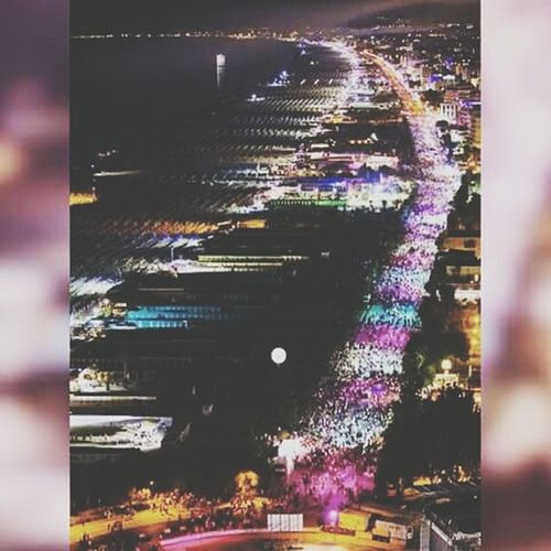 •la mejor fiesta de todo el mundo• Notte Rosa 2015  Rimini Pink! Fiestaaaaa Summer2015 Lots Of People Fun! Night Lights Beautiful View