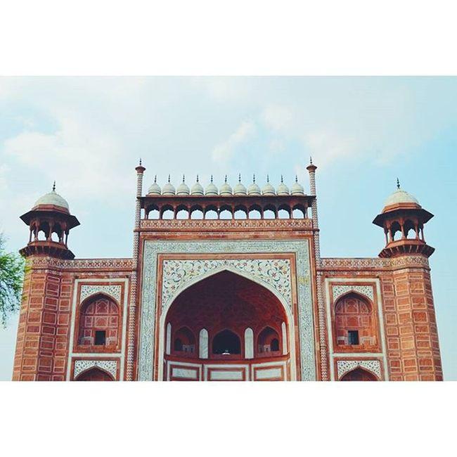 Taj Mahal Entry Tajmahal Entry Gate Agra VSCO Vscocam Vscoexplore Vscotravel Explore IndiaJourney Vscoindia India