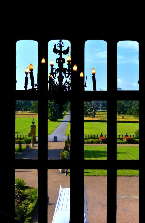 Far View Manor Manor House Window Window Frame Window Framed Window Photo Window Photography Chandelier Old-fashioned Old House Oldstyle