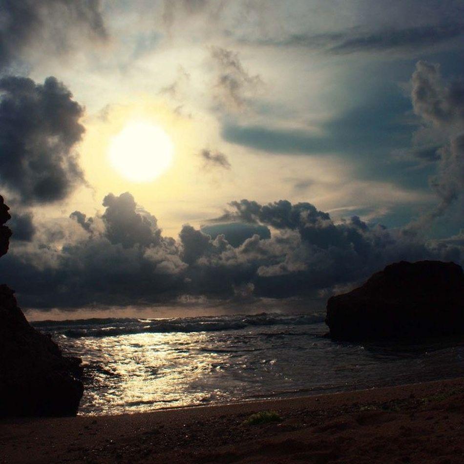 sunset di Pantai Pok Tunggal Instasunda EsiaMaxPIC SunMaxPIC