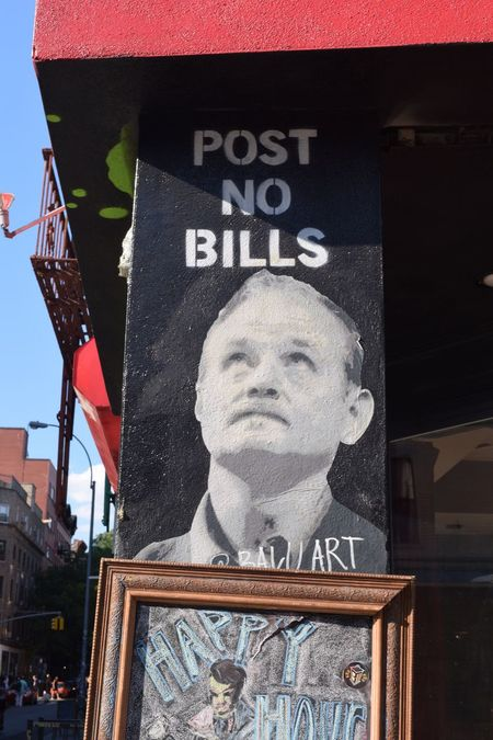 Post No Bills Streetview ArtWork Great View New York Street Life Streetart Enjoying Time Enjoying Life Enjoying The Moment Enjoying The View Enjoying The Sights Places I've Been Capture The Moment Nikon D3300 New York City NYC Photography Mural Art Graffiti & Streetart Graffiti Wall Graffiti Art Graffiti Streetphotography Street Photography Bill Murray