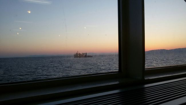 Cinema In Your Life Day Breaks Softly Starting The Day Windows_aroundtheworld Good Morning! Eye4photography  EyeEm Gallery Eyeem Market Sea And Sky Ship In Distance Global Photographer-Collection Fine Art Photography EyeEm Market ©