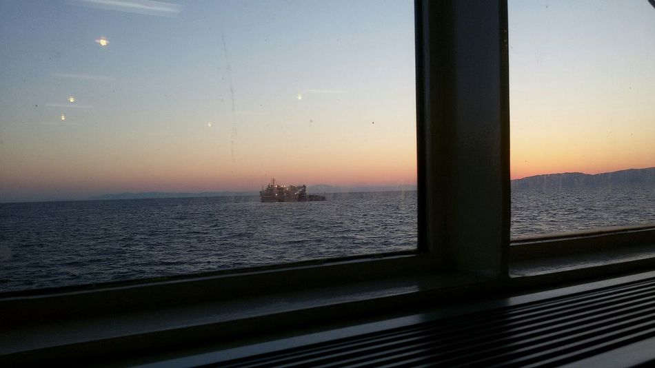 Cinema In Your Life Day Breaks Softly Starting The Day Windows_aroundtheworld Good Morning! Eye4photography  EyeEm Gallery Eyeem Market Sea And Sky Ship In Distance Global Photographer-Collection Fine Art Photography Eyeem Market Eyeem Gallery Seascape