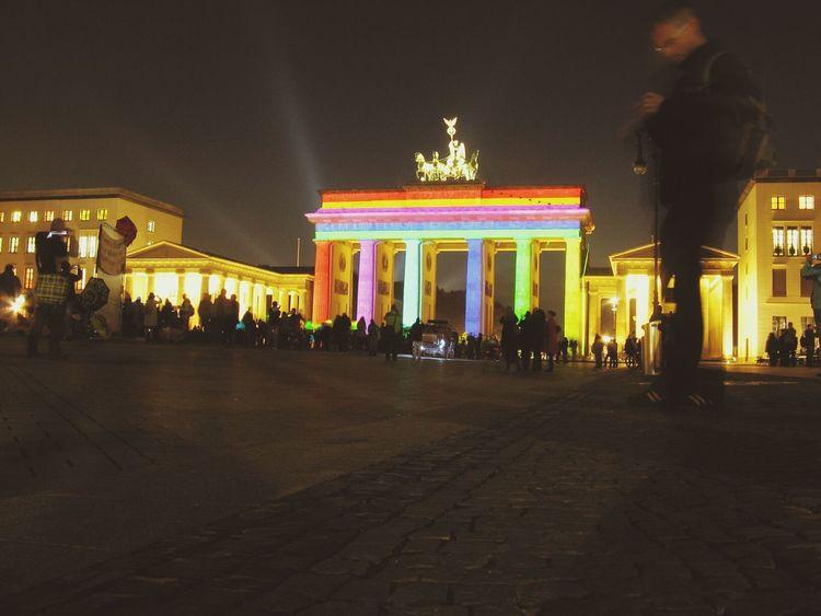 Berliner Lichter. Berlin Night Lights Berliner Lichter Festivaloflights