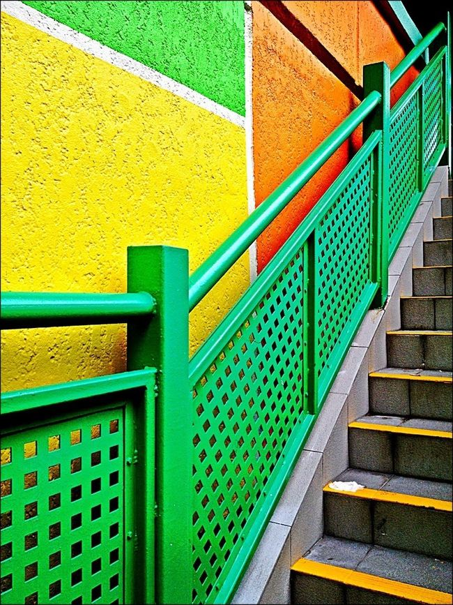 Streetphotography Stairs Colours Minimalobsession