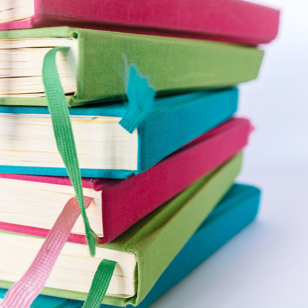 Colorful Books Blue Books Close-up Colorful Colors Cyan Education Educational Green Indoors  Learning LearningEveryday No People Pink Reading Reading Books Reading Time Stack Study Hard Study Time Studying Table