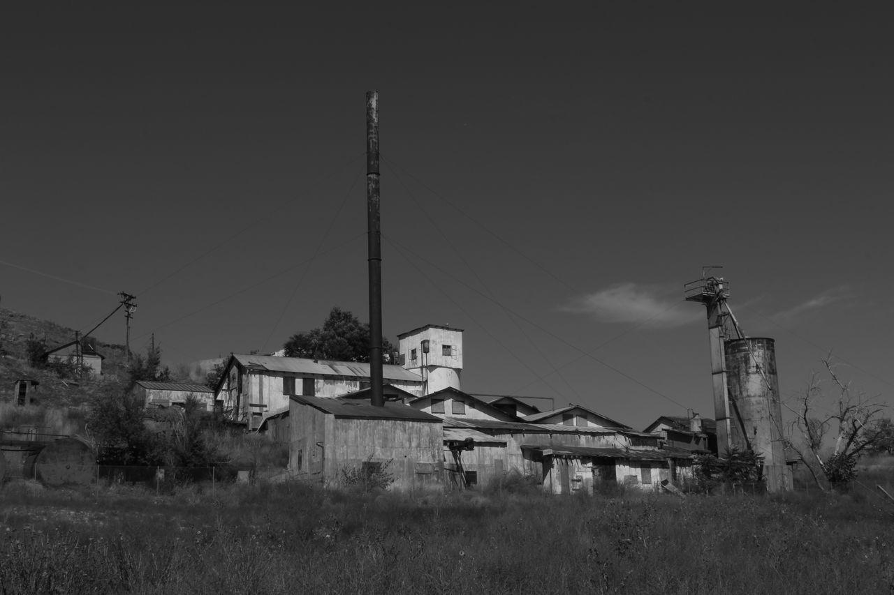 Abandoned Abondoned Buildings Black & White Black And White Black&white Blackandwhite Desolate Industry Mine Old Mineworks