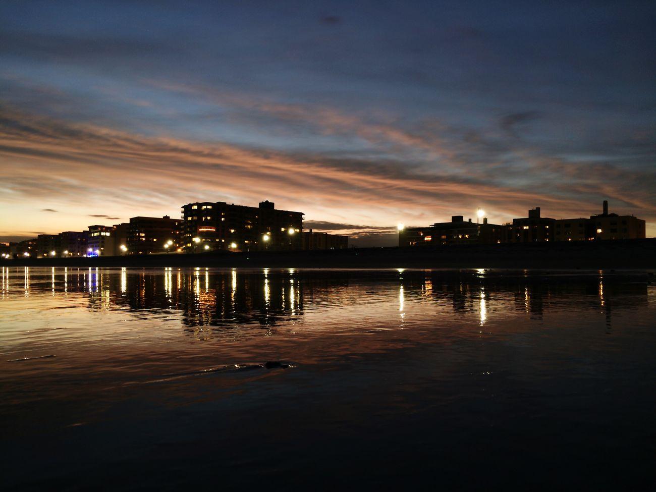 Sunset At Long Beach, NY EyeEm Best Shots Sky Collection Visualmagic Splendid_reflections Sunset_collection Beautiful Sky Popular Photos Beachphotography Long Island NY