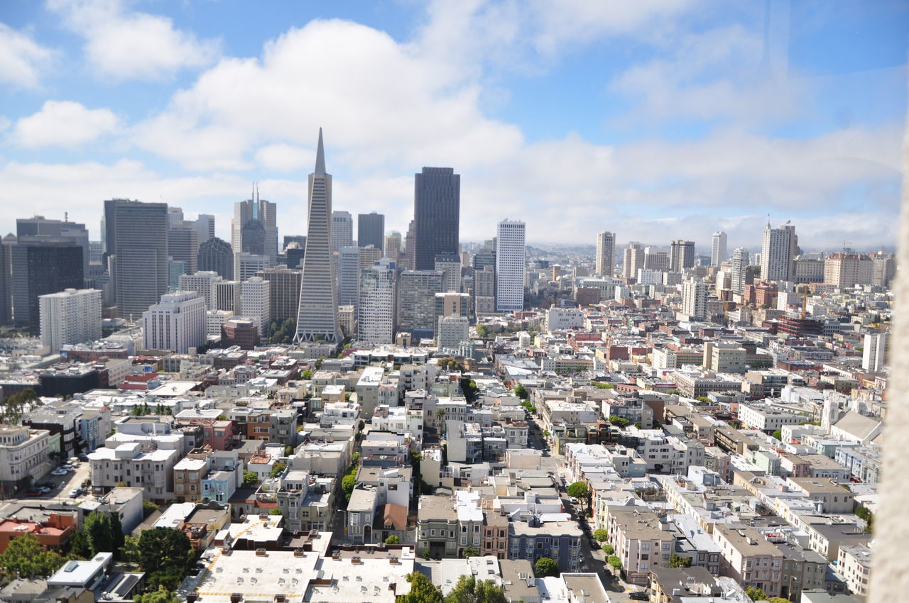 Embrace Urban Life San Francisco California Kalifornien Big City Architecture Urban Skyline Skyscraper City Cityscape