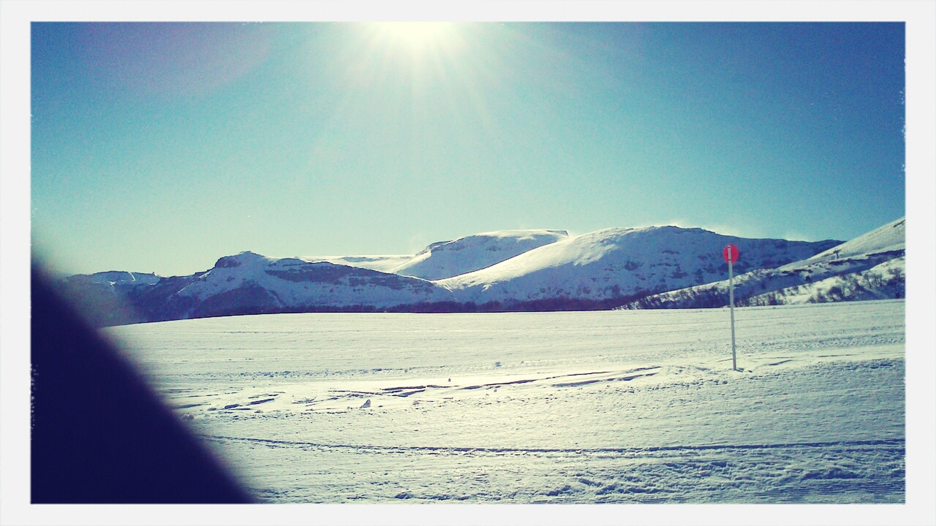 la hermosura de la montaña
