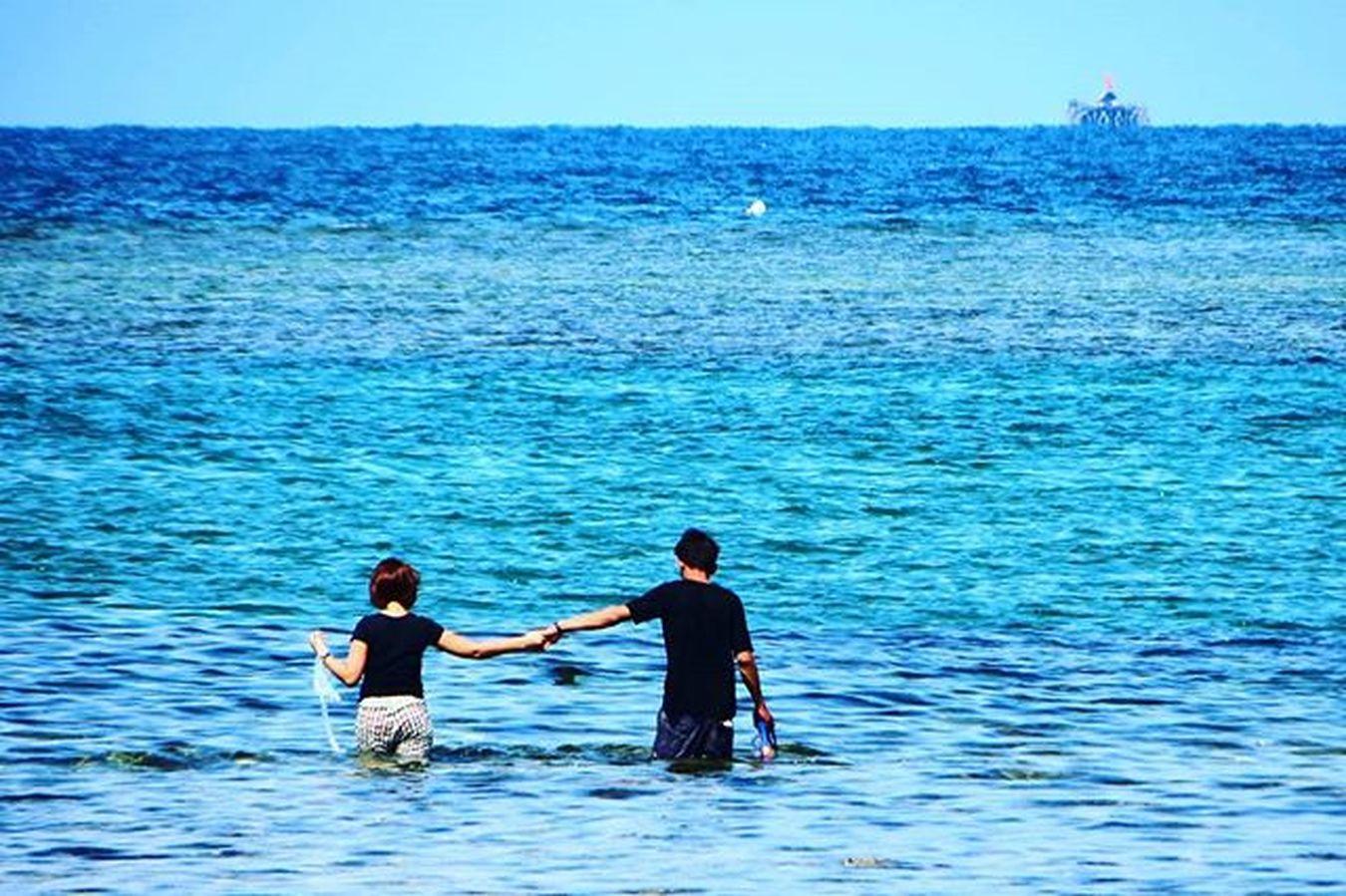 Romance Sea Snorkeling Romantic Withlove Happiness Trikorabeach Bintanisland Loveisland