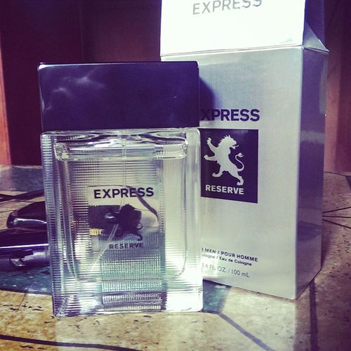 Thanks to my kuya giving me this ExpressMen ExpressReserve perfume Michaelweiss