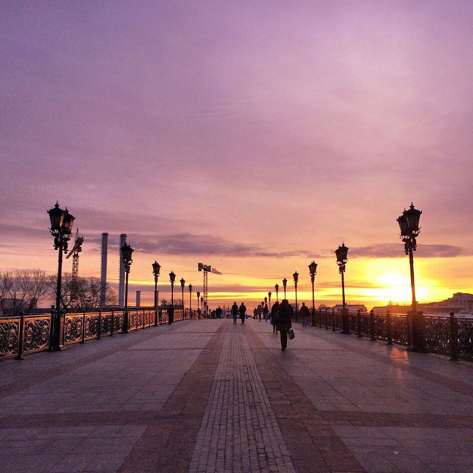 City Streetphotography Russia Taking Photos Sunset Sky