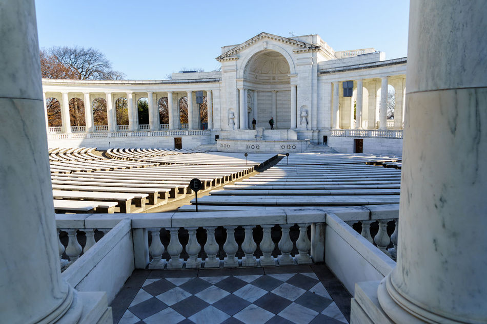 Beautiful stock photos of memorial day, Amphitheatre, Architectural Column, Architecture, Arlington National Cemetery