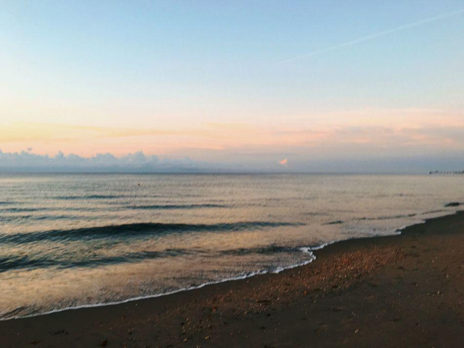 43 Golden Moments Beautiful Sunsrise Beachphotography Beach Morning Morning Sky Blue Sky Dusk Day Break Hello World