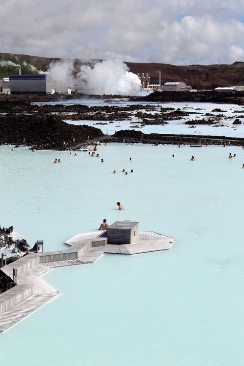 Blue Lagoon iceland Water Nature Leisure Activity Vacations Outdoors Day Men Real People Beauty In Nature One Person High Angle View Sky Lifestyles Women Sea Swimming Pool Scenics People Blue Lagoon Iceland Eye4photography  From My Point Of View Weltblick Blaue Lagune