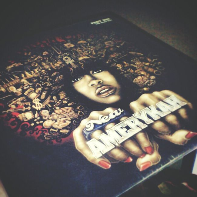 Erykah Badu New Amerykah Part 1 on Wax-one of My Favorite Albums of all time. Vinyl Vinyl Records DOPE Recordcollection Dilla Music Neosoul