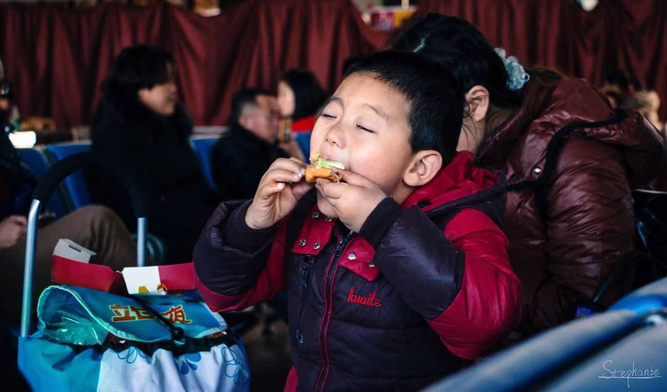 Child Fun Young Adult Eating 70d Boy Festival Station Art