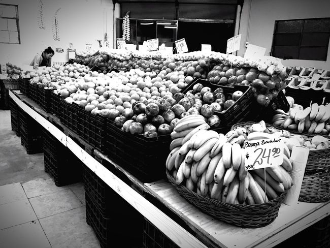 Blackandwhite Photography Black And White Vegetable Market Food And Drink Healthy Eating Tranquility Blackandwhite