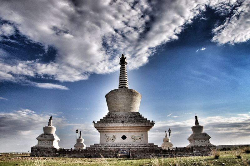 temple in ORDOS INNER MONGOLIA CHINA!