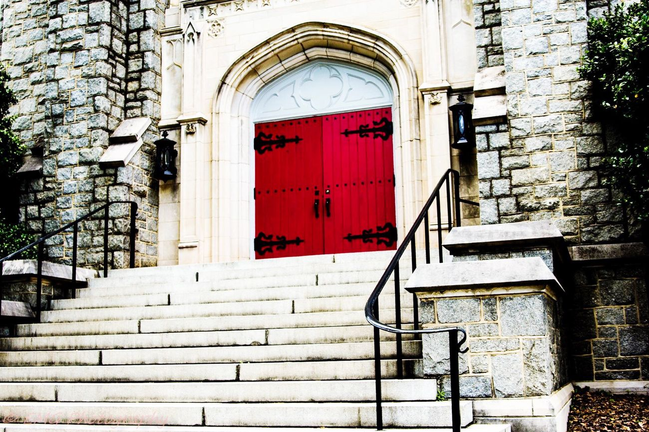 The Color Of Business Red Door Augusta Georgia Church