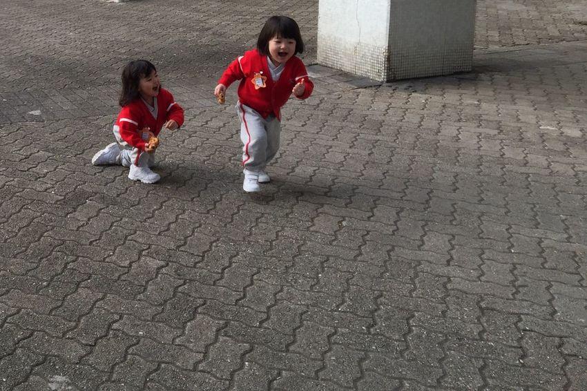 Everyday Joy Hong Kong Kids Laughing Red Jacket